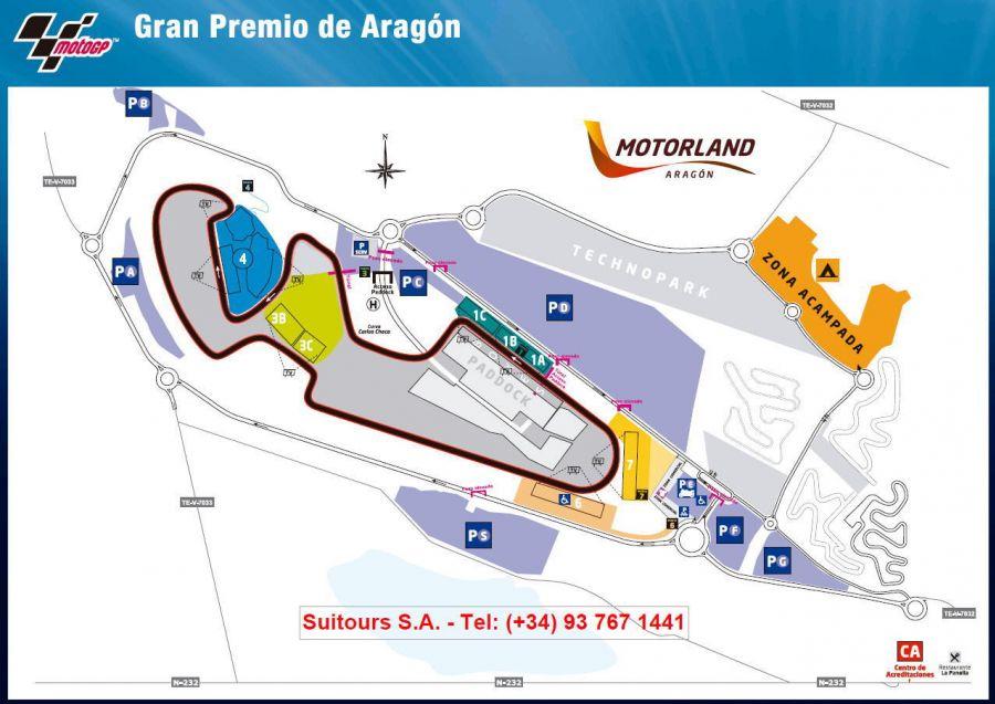 Circuito Alcañiz : Motorland circuit aragon tickets motogp spain